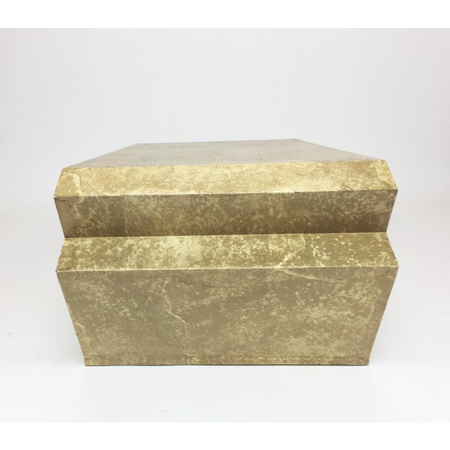Vintage Goatskin Coffee Table in the Style of Karl Springer - Image 7 of 9