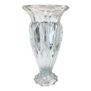 Shannon Crystal Fluted Vase For Sale