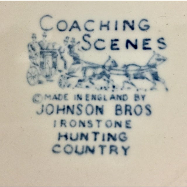 Ceramic 1950s Boho Chic Stoneware England Butter or Pickle Plates - a Pair For Sale - Image 7 of 9