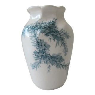 Wedgwood Gorse Creamware Vase For Sale