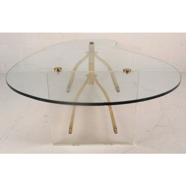 Metal Mid-Century Modern Charles Hollis Jones Coffee Table For Sale - Image 7 of 11