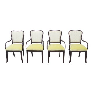 Late 20th Century Ralph Lauren Dining Chairs - Set of 4 For Sale