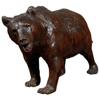 Large Black Forest Bear