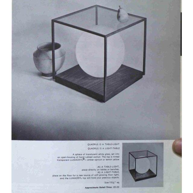 Quadrus Light Table by Paul Mayen for Habitat - Image 11 of 11