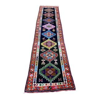 Vintage Kurdistan Colorful Rug For Sale