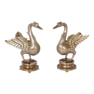 Anglo-Indian Brass Birds - A Pair For Sale