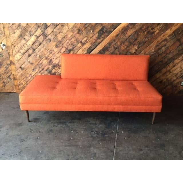 Mid Century Style Custom Day Bed Sofa - Image 2 of 6