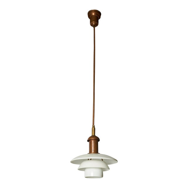 Copper Pendant by Poul Henningsen For Sale