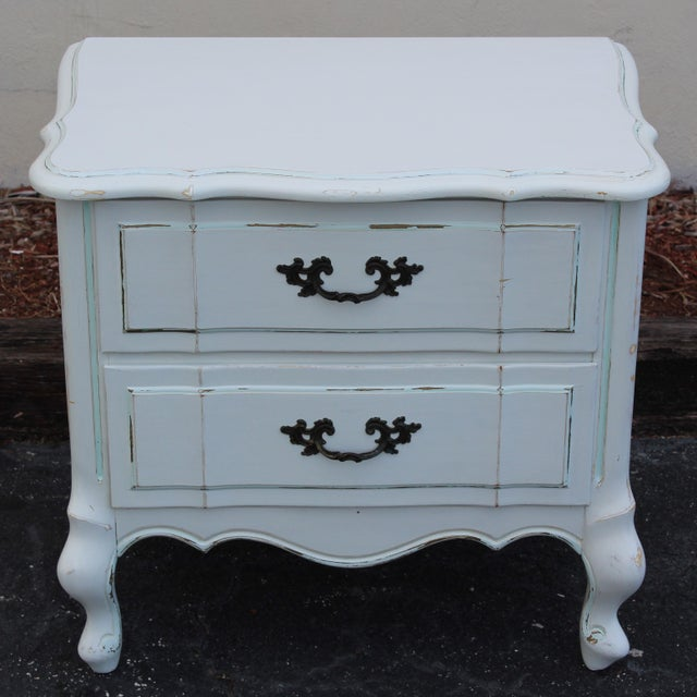 French Provincial Nightstands - A Pair - Image 4 of 7