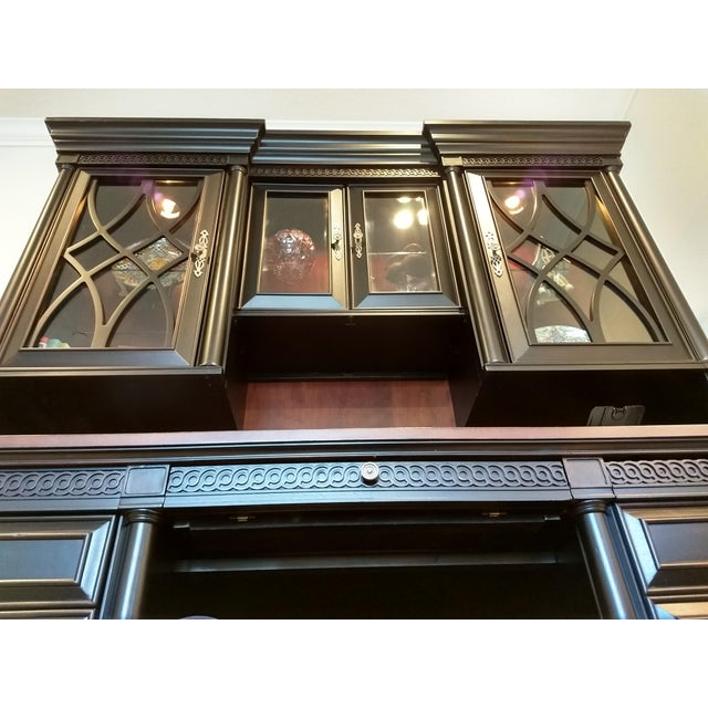 Home or Office Desk Credenza Hutch Combination - a Great Piece in Great Condition at a Great Price For Sale In Orlando - Image 6 of 13