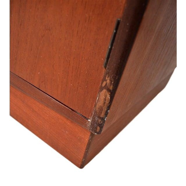 Brown Mid Century G Plan Fresco Teak Wardrobe Armoire For Sale - Image 8 of 10