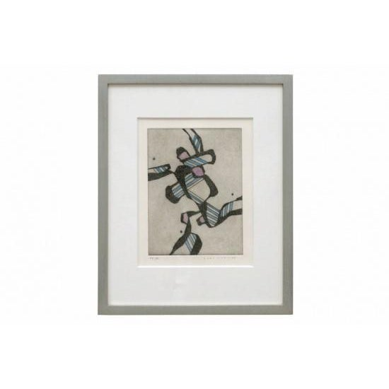Abstract Hand Colored Lithograph For Sale In New York - Image 6 of 6