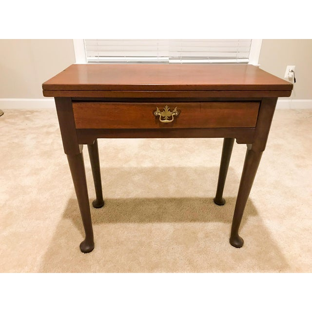 18th Century George II Mahogany Card Table For Sale - Image 13 of 13