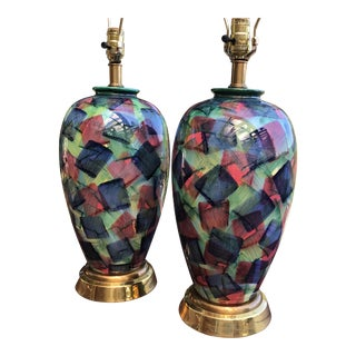 Vintage Frederick Cooper Table Lamps - A Pair