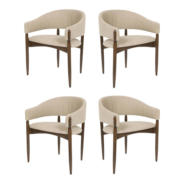 Set of 4 Enroth Dining Chairs For Sale