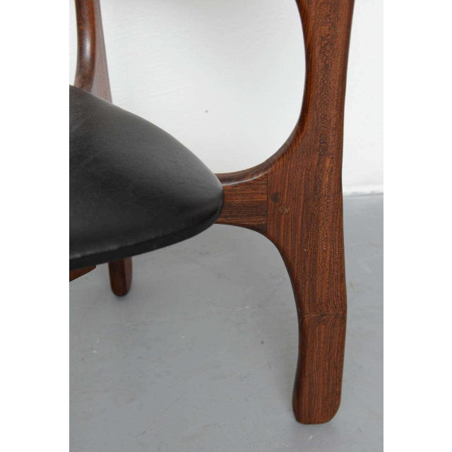 Wood 1970s Rosewood Chairs by Don Shoemaker, Mexico For Sale - Image 7 of 9