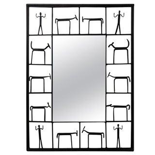 Vintage Frederick Weinberg Mirror For Sale