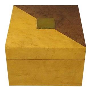 Vintage Birdseye Maple Box, 1970s For Sale