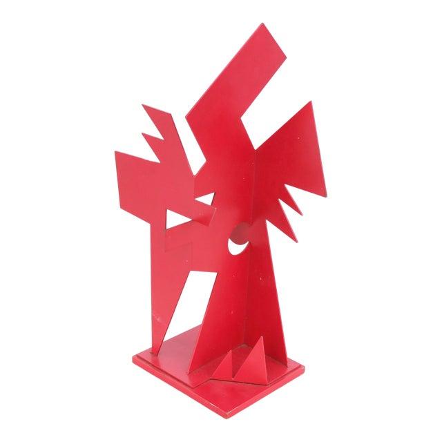 """Corten Steel"" Sculpture by Jay Lefkowitz For Sale"