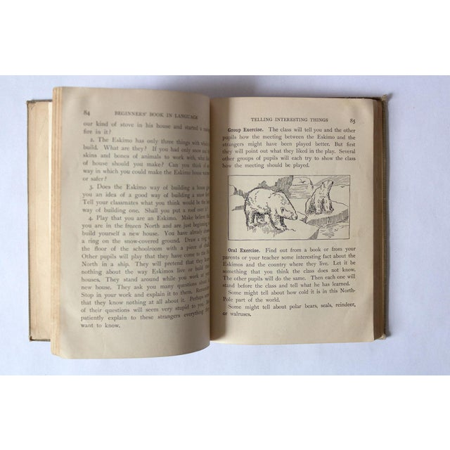 """1920s 1920s """"Oral and Written English"""" School Book For Sale - Image 5 of 9"""
