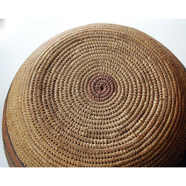 7027cfc51f3 This stunning vintage hand-woven basket is from the Northwest California  Hupa tribe and dates
