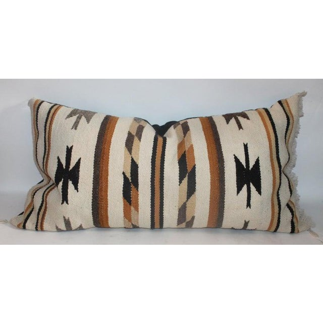 2010s Chinle Navajo Indian Weaving Pillows - Collection of 4 For Sale - Image 5 of 8