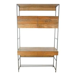 West Elm Industrial Desk For Sale