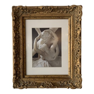 1980s Cupid's Kiss Framed Print For Sale
