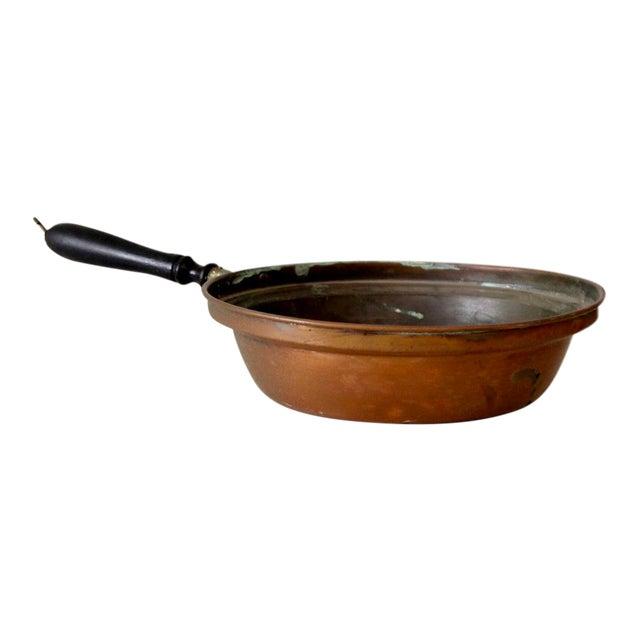 Antique Copper Pan For Sale