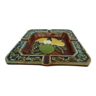 Ceramic Glazed Fruit Centerpiece Ashtray