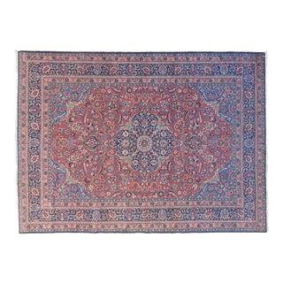"""Vintage Persian Tabriz Rug - 8'3"""" X 11'3"""" For Sale"""