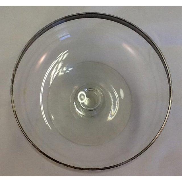 Mid-Century Dorothy Thorpe Stem-Footed Bowl - Image 3 of 5