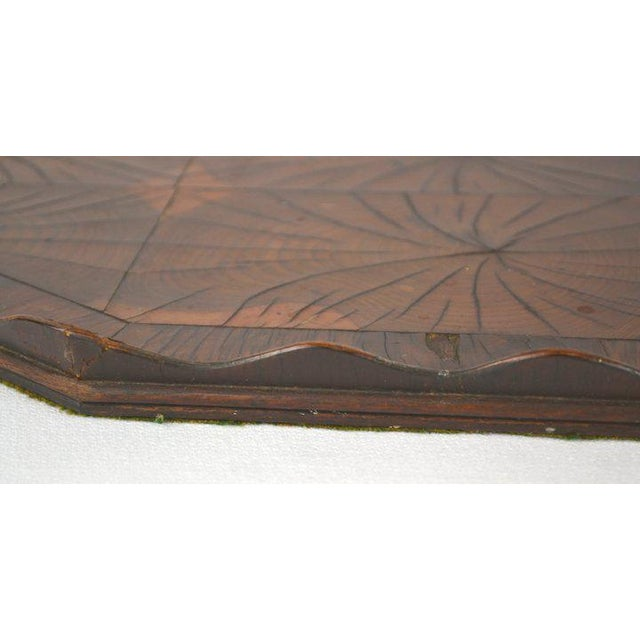 Oyster Veneer Tray For Sale - Image 10 of 13