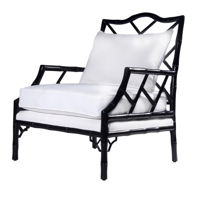 Kennedy Lounge Chair - Ebony Lacquer - Image 1 of 4