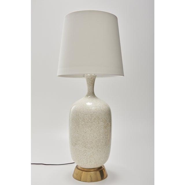 Mid-Century Oversize Ceramic Table Lamp - Image 5 of 5