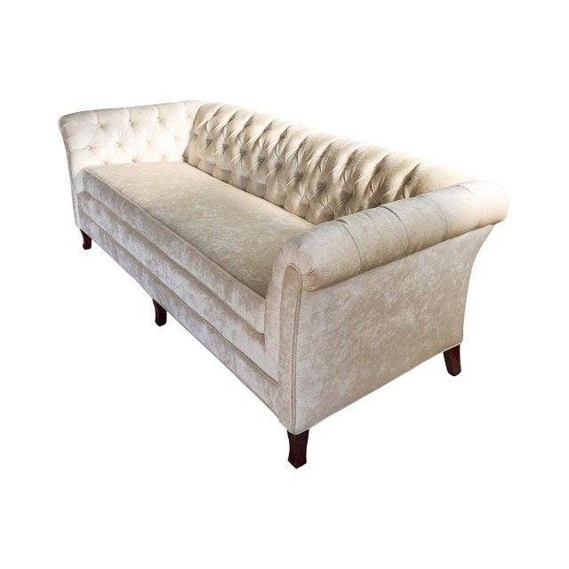 Hodsoll McKenzie Ivory Chesterfield Sofa - Image 7 of 10