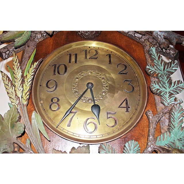 Black Forest Grandfather Tall-Case Clock For Sale - Image 10 of 13
