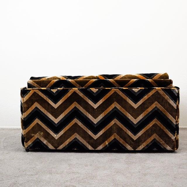 Mid Century Milo Baughman Style Case Sofa For Sale - Image 9 of 13