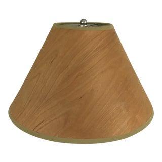 Modern Wood Veneer Lamp Shade