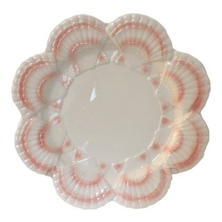 1980s Vintage Ironstone Shell Dish For Sale