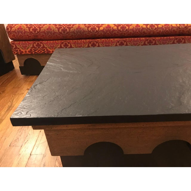 Mid-Century Modern 1960s Mid Century Modern Adrian Pearsall Slate Coffee Table For Sale - Image 3 of 7