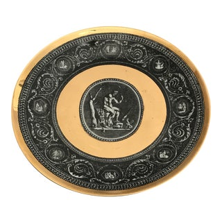 Two Piero Fornasetti Cammei Plates For Sale