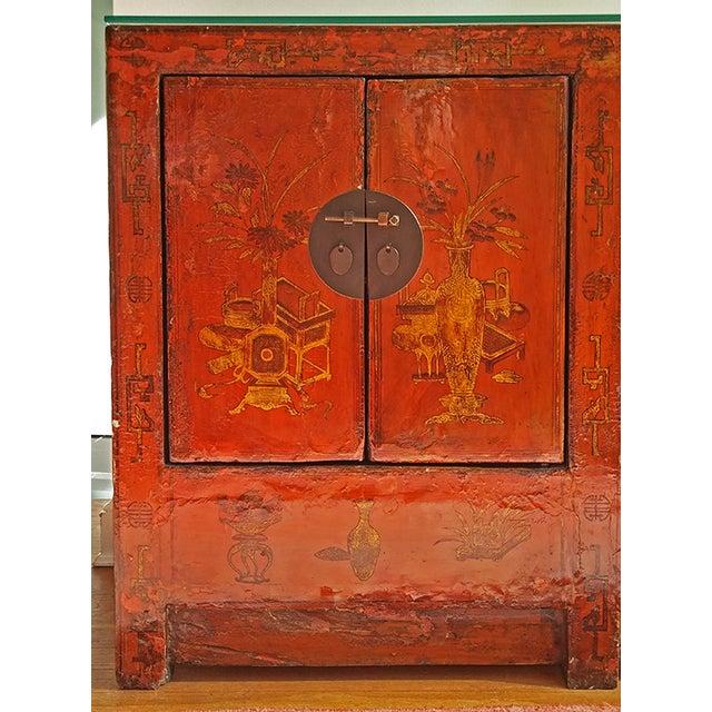 Chinese Storage Cabinet - Image 4 of 6