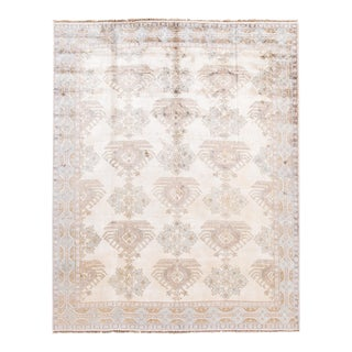 21st Century Contemporary Modern Jaipur Wool and Silk Rug For Sale