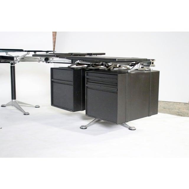 Herman Miller Bruce Burdick Executive Desk for Herman Miller For Sale - Image 4 of 12