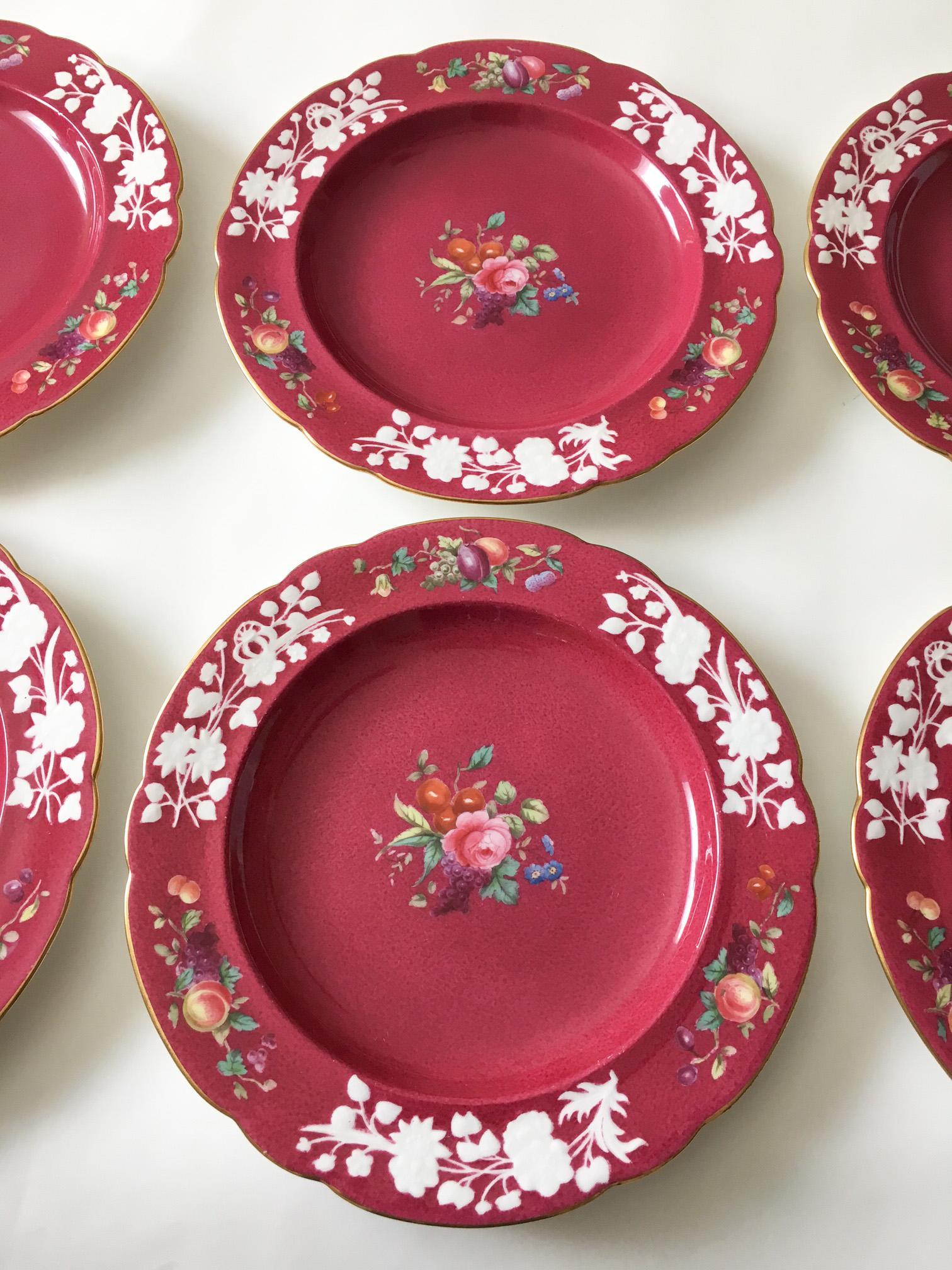 19th Century Copeland Spode for Tiffany u0026 Co. Dessert Plates - Set of 6 -  sc 1 st  Chairish & 19th Century Copeland Spode for Tiffany u0026 Co. Dessert Plates - Set ...