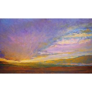 Ken Elliott, Light Moving Across Painting, 2018 For Sale