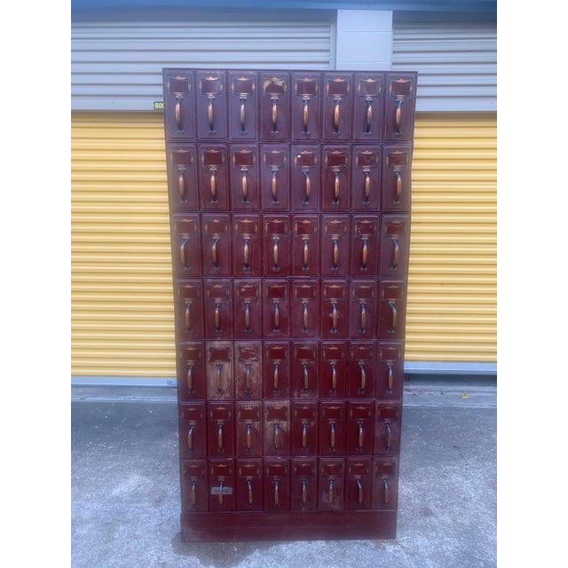 Vintage Industrial File Cabinet For Sale - Image 13 of 13