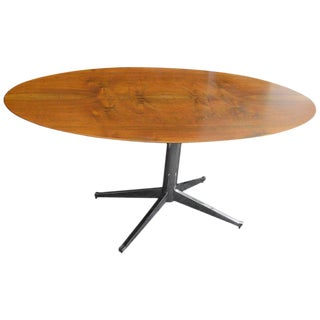 Midcentury Florence Knoll Dining or Desk With Chrome Base