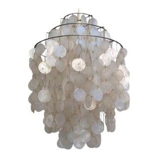 Fun 1 DM Shell Lamp by Verner Panton for Lüber, 1967